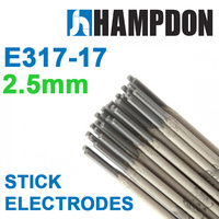 2.5mm Stick Electrodes - 400g Handy pack- E317L -Stainless Steel -Welding Rods