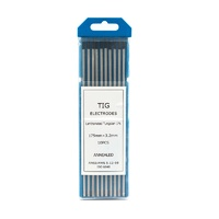 3.2mm, 1% Lanthanated TIG Tungsten electrodes - Pack of 10