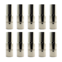 MIG Gas Nozzle / Shroud - PSF 400 - ESAB Style - 10 Pack - Parweld