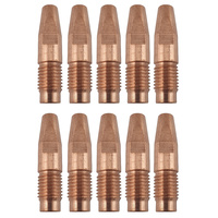 MIG Contact Tips - 0.8mm FRONIUS Style- 10 pack - M10 x 10 x 0.8mm