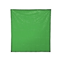 BossSafe 1.8m x 3.4m Green Welding Curtain