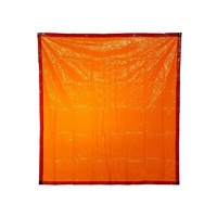 BossSafe 1.8m X 1.3m Orange Welding Curtain