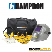 BossSafe Student Safety Kit - Graphite Helmet