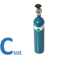 PURE ARGON C Size Welding Gas Bottle - No Rent