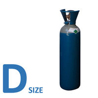 Argon / Argon Co2 D Size Welding Gas bottle - NO RENT