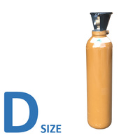 Helium D Size Welding Gas bottle - No Rent