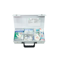 20 Piece Vinyl Cased Car First Aid Kit