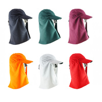 Legionnaire Hat with Throat Cover - 7 Colours - One Size Fits All- UV Protection