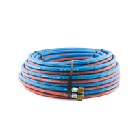 20 meter Oxy  Acetylene Twin Hose with fittings. Trade Quality