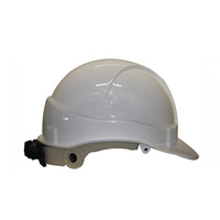 Industrial Non Vented High Temperature Hard Hat - HammerHead - White