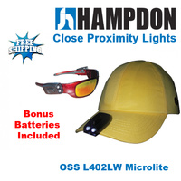 Head Lamp LED - Sold As Pair - Flashlight - Torch - MicroLITE - Headlamp