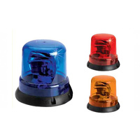 Rotating Light - 12 Volt - Bolt On - Vehicle Warning light AMBER ONLY Flashing