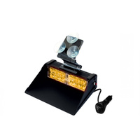 Warning Light - Windscreen Mountable - 12 volt - 1km Visibility - High Intensity