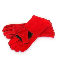 Welding Gloves  35cm High Comfort  Leather