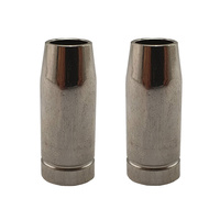 MIG Nozzle / Shroud - MB12 -Conical -Binzel Style- 2 x -Migmate- Screw