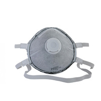 P2 Disposable Dust Masks with Valve and Carbon Filter - Box of 5