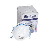 P2 Disposable Dust Masks with Valve -  Box of 10