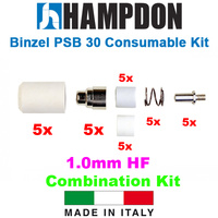 Binzel Style PSB 30 HF Consumable Kit - 25 Piece Kit - 1.0mm Kit