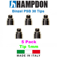 Binzel Style PSB 30 1.0mm Tips - 5 Pack - SB302