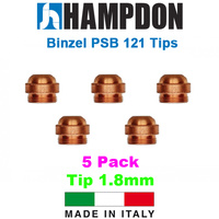 Binzel Style PSB 121 1.8mm Tips - 5 Pack