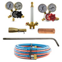 Acetylene Super Heating Torch Kit - SHA1 with Mixer + 700mm Barrel