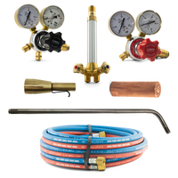 Acetylene Super Heating Torch Kit - SHA2 with Mixer + 450mm Barrel