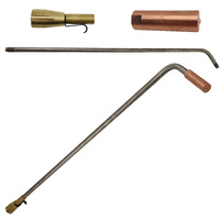 Super Heating Tip Acetylene - 12 x 12 - SHA2 with Mixer + 700mm Barrel