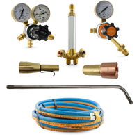 LPG Super Heating Torch Kit - SHP2 with Mixer + 700mm Barrel