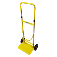 Cylinder / gas bottle Trolley D Size with rubber wheels