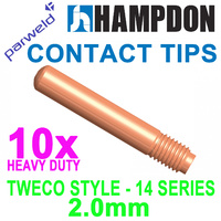 Tweco 14H564 MIG Contact Tips - 2.0mm - 10 pack