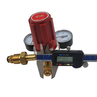 UWELD Acetylene Regulator / Flow Meter 0-150 KPA