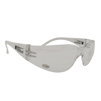 +1.50 Clear Bifocal Reading Safety Glasses Bi focal
