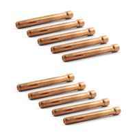TIG Collets - 10 pack - 2.4mm - WP-17 | 18 | 26