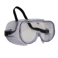 Direct Ventilation Safety Goggles - Clear Lens - Trojan
