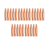 Tweco Style 14T116 TAPERED MIG Contact Tips 1.6mm - 25 Each