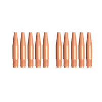 MIG Contact Tips TAPERED- TWECO #2 & #4 - 0.9 mm - 10 pack