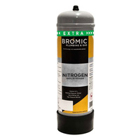 Bromic Disposable Nitrogen Mix Food Grade Cylinder 2.2L