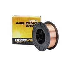 Bossweld ER70S-6 Layer Wound Mig Wire x 1.0mm x 15 Kg