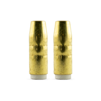 Bernard Style MIG Nozzle / Shroud 4392 Tapered - 2 Pack