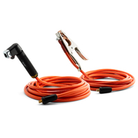 50cm Generator Lead Connector Tails 500Amp 1 Gauge 50mm² Cable