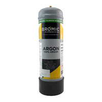 Disposable Gas Bottle - PURE Argon - 2.2 Litre
