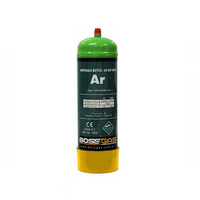 BossGas 1Lt Pure Argon Disposable Gas Bottle