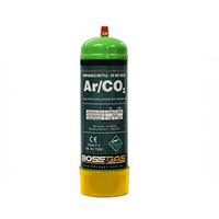 BossGas 1Lt Argon/Co2 Disposable Gas Bottle
