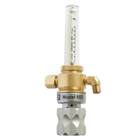 Harris 653 Argon Co2 Pipeline Flow Meter Regulator