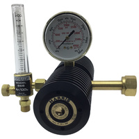 Harris 6CD100F High-Flow Two Stage CO2 Regulator