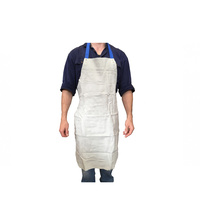 BossSafe Chrome Leather Full Apron 60 x 90cm