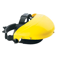 BossSafe Faceshield Harness + Yellow Browguard