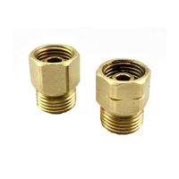 1/2 UNF to 5/8 UNF Gas Adaptor Nuts