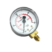 Harris 601 LPG High Pressure Gauge 0-40 Bar - 8E6014