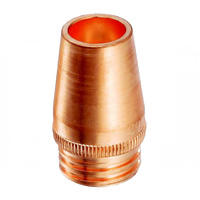 Bossweld Tweco Gas Nozzle 16mm Recessed Use with 34CT (Pkt 2) - 24CT62R